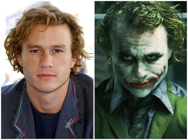 ジョーカーを演じた歴代俳優のメイク前と後を比較!ヒース