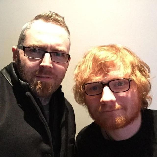 画像: ケヴィン(左)とエド(右)。 ©Kevin Paul/Instagram