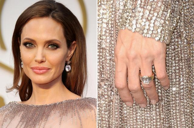 画像: ロバートがデザインを手がけたアンジェリーナの婚約指輪。
