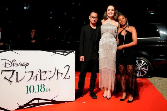 画像: 東京で行なわれた『マレフィセント2』のジャパン・プレミアにて。