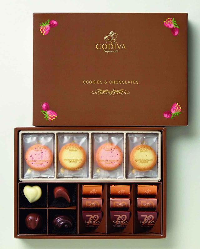 画像: 「クッキー&チョコレート アソートメント」(ダブルストロベリー&ホワイト)3,000円