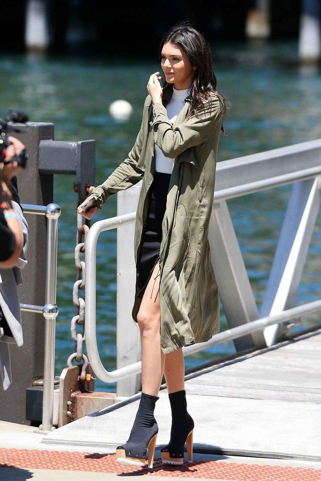 画像: 人気モデルのケンダル・ジェンナー