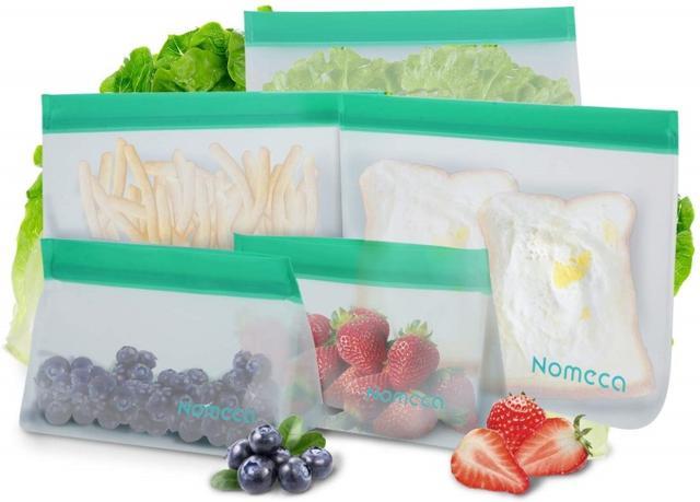 画像: Reusable Food Storage Bags/11.99ドル/約1,300円