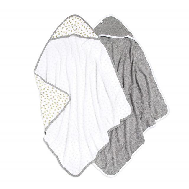 画像: Burt's Bees Baby - Hooded Towels/24.99ドル/2,700円