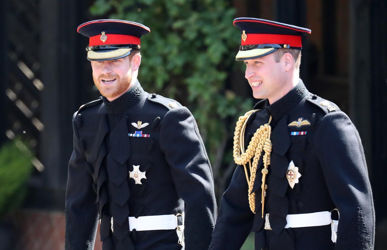 画像2: 不仲説が語られるヘンリー王子とウィリアム王子