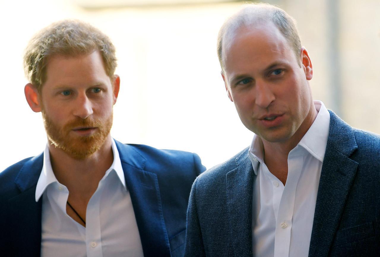 画像1: 不仲説が語られるヘンリー王子とウィリアム王子