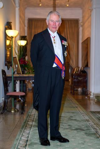 イギリスのチャールズ皇太子