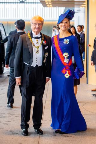 スウェーデンのカール16世グスタフ国王とヴィクトリア王女