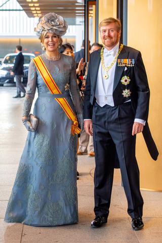 オランダのウィレム・アレクサンダー国王とマクシマ王妃