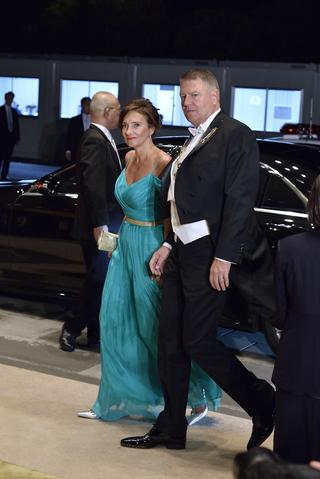 ルーマニアのヨハニス大統領夫妻