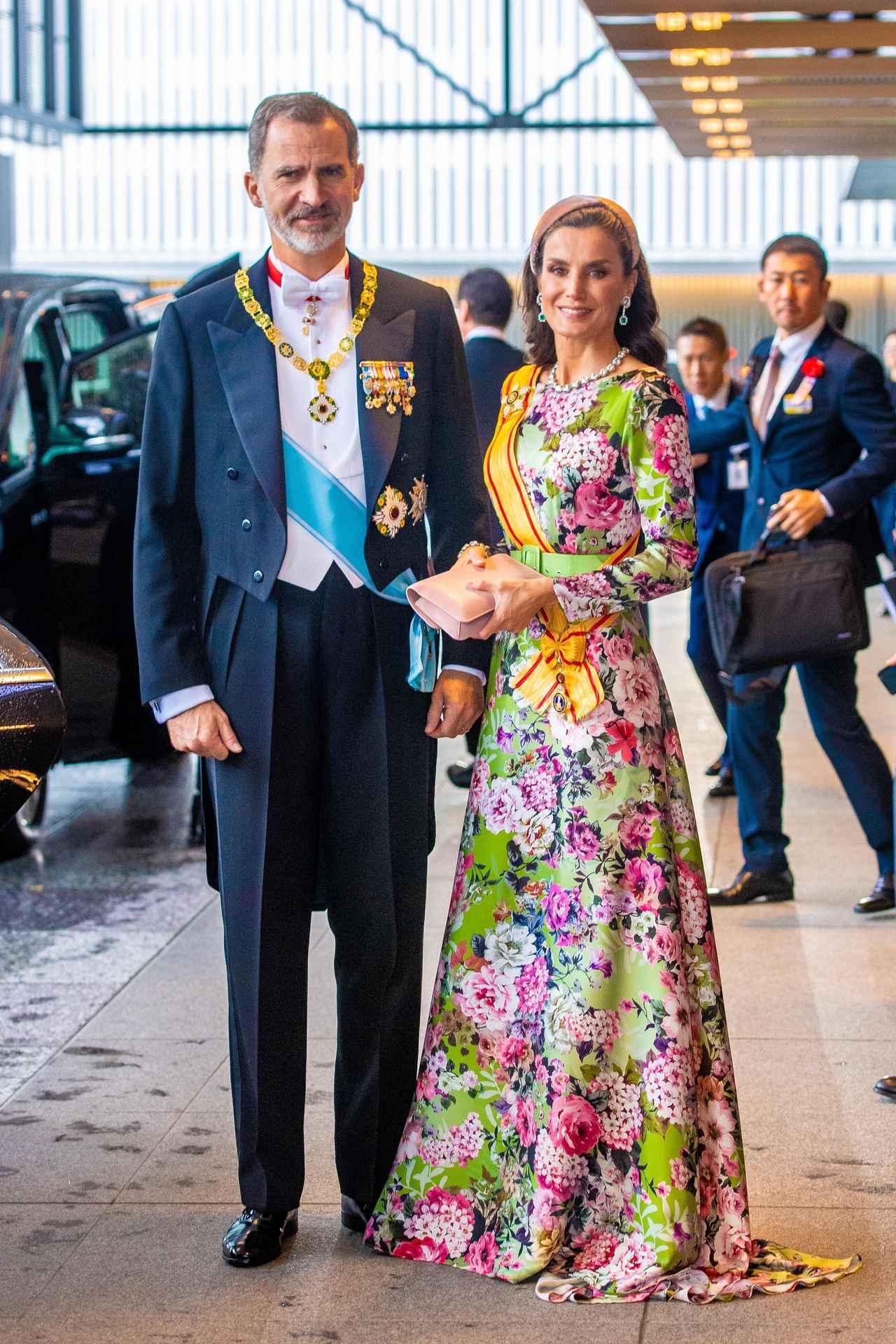 画像: スペイン王室のフェリペ6世国王とレティシア王妃。