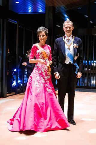 スペインのフェリペ6世国王とレティシア王妃