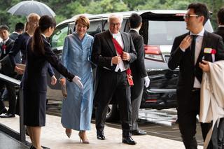 ドイツのフランク=ヴァルター・シュタインマイヤー大統領とエルケ・ビューデンベンダー大統領夫人