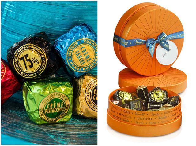 画像2: イタリア老舗チョコ「ヴェンキ」日本上陸!おしゃれBOXはプレゼントに最適