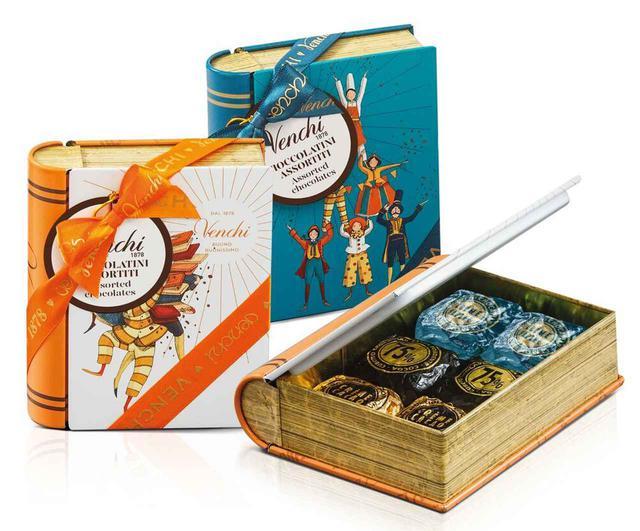 画像4: イタリア老舗チョコ「ヴェンキ」日本上陸!おしゃれBOXはプレゼントに最適