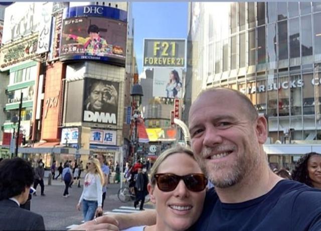 画像: 渋谷で観光するザラ氏とマイク夫妻。 www.instagram.com