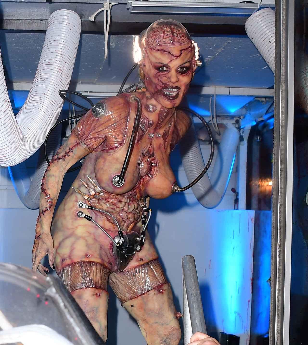 Images : 17番目の画像 - 「ハロウィンの女王」ハイディ・クルムの仮装が怖すぎる - フロントロウ -海外セレブ情報を発信