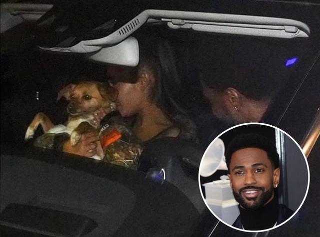 画像: 2014年8月から2015年4月まで1年近く交際したラッパーのビッグ・ショーンとは、3月に車中での密会が報じられたが、愛犬をお披露目していただけだった。 twitter.com