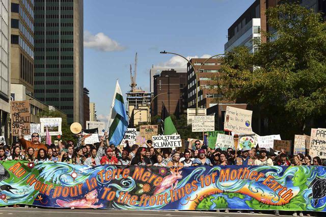 画像: 気候変動の授業を義務化