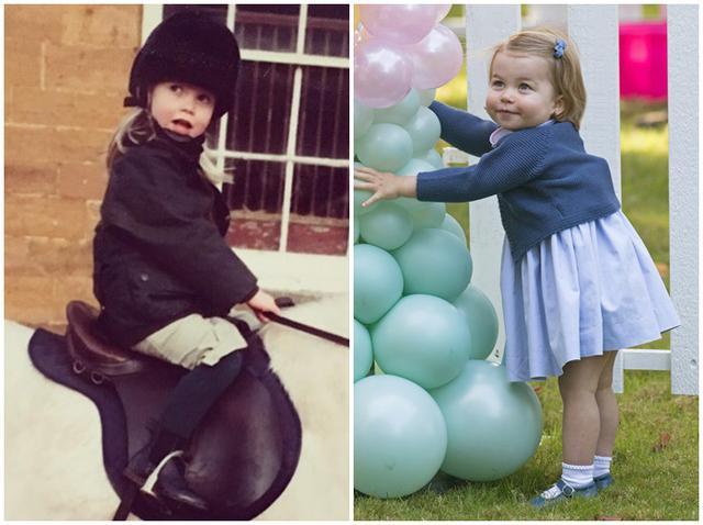 画像2: シャーロット王女とキティがそっくり
