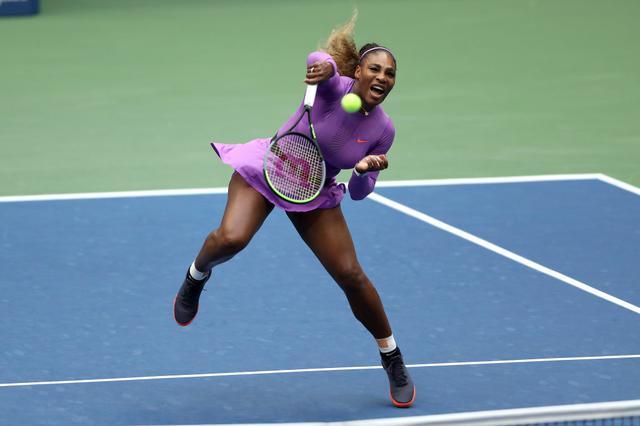 画像: セリーナ・ウィリアムズ選手。グランドスラム4大会連続優勝達成した史上5人目の選手として、テニス界の歴史に名を残している。