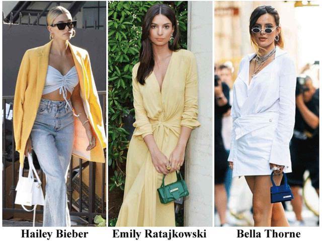画像: ジャックムスのバッグを愛用する、ヘイリー・ビーバー、トップモデルのエミリー・ラタコウスキー、女優のベラ・ソーン。