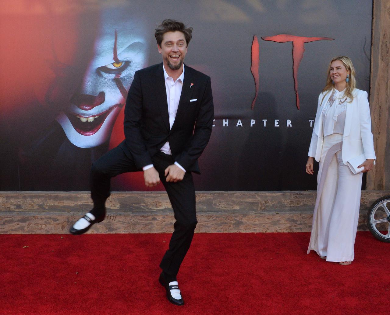 画像: 監督のアンディ・ムスキエティ(左)とプロデューサーのバルバラ・ムスキエティ(右)。