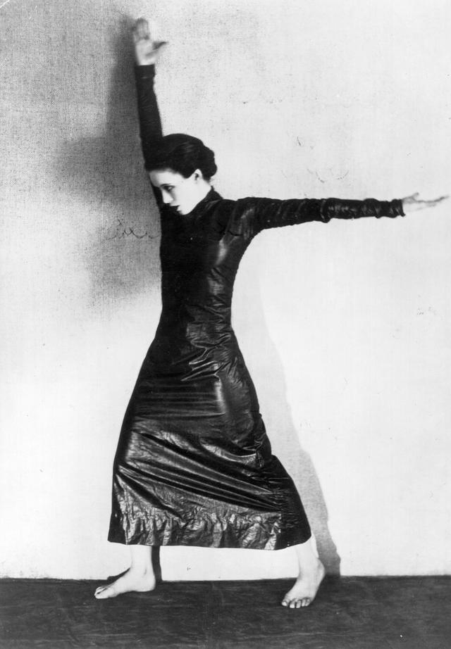 画像: アメリカ人ダンサーのマーサ・グラハム。