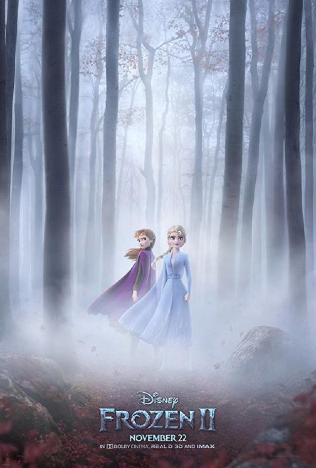 画像: 『アナと雪の女王2』北米版のポスター。©Disney