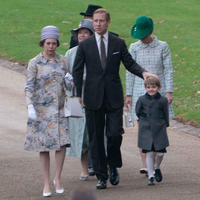 画像1: ネトフリ『ザ・クラウン』、ジョージ王子を再現
