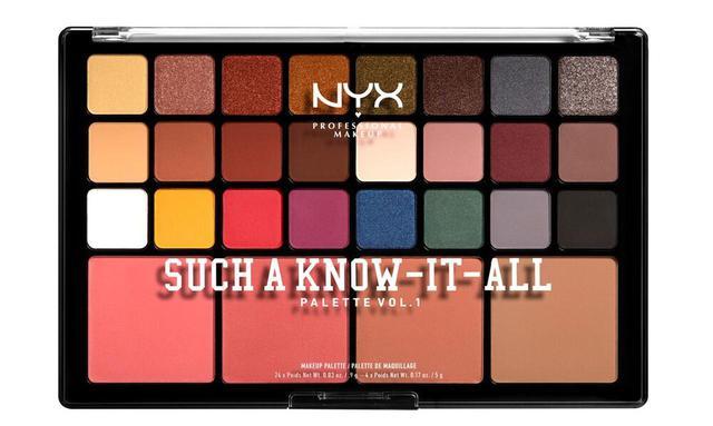 画像: NYX Professional Makeup サッチ ア ノウ イット オール パレット VOL.1  全1色 7,500円(税抜) ※メーカー小売希望価格
