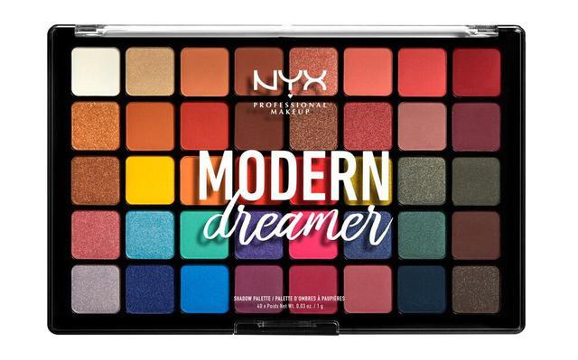 画像: NYX Professional Makeup モダン ドリーマー シャドウ パレット 全1色 7,500円(税抜) ※メーカー小売希望価格