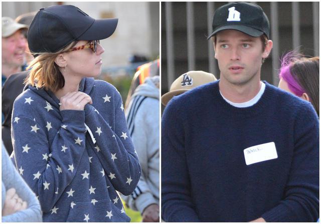 画像: クリスの妻キャサリンと彼女の弟のパトリック。