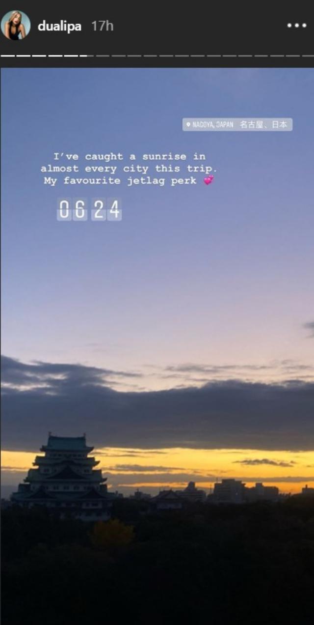 画像: ©Dua Lipa/ Instagram