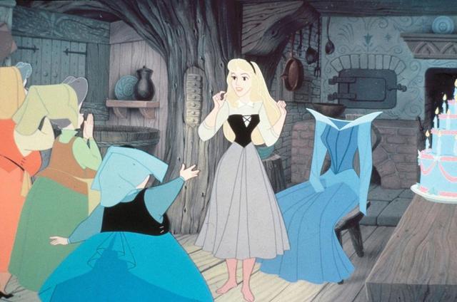 画像: 『眠れる森の美女』のワンシーン。