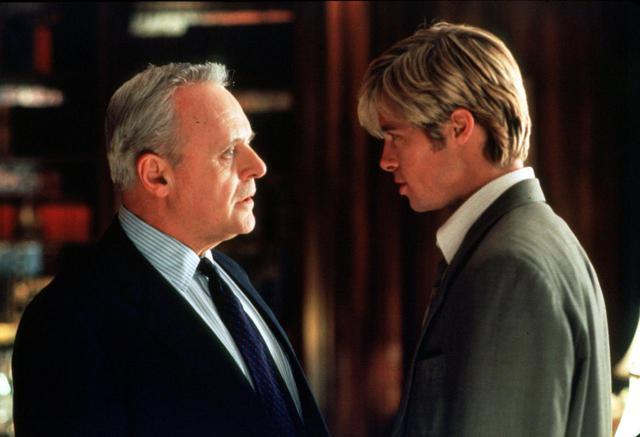 画像: ブラッドとアンソニーは、1998年の映画『ジョー・ブラックをよろしく』で共演している。ⒸGetty Images