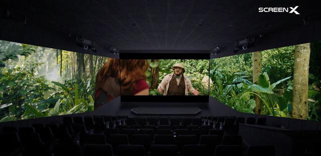 画像: ScreenXで『ジュマンジ』の世界に入ったような迫力!
