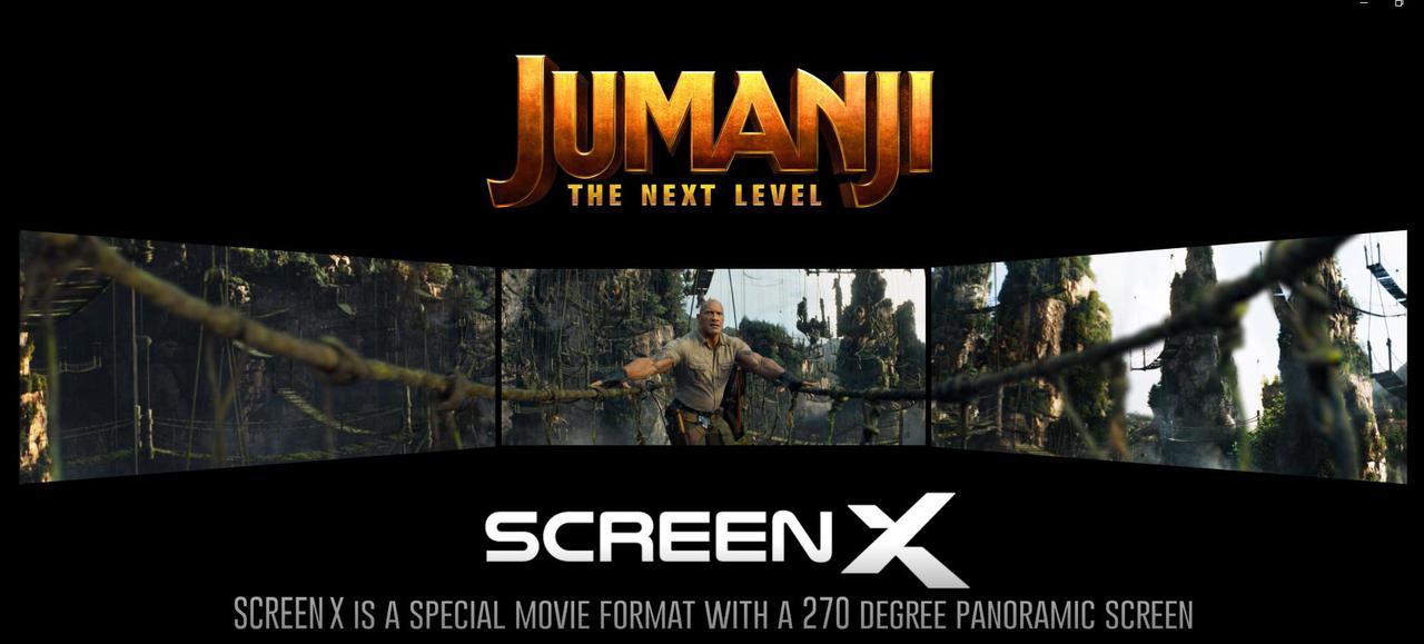 画像: ScreenXで『ジュマンジ』を見ることの面白ポイントは?