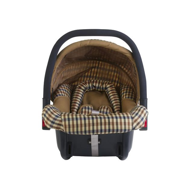 画像: 新生児用ベビーシートのイメージ画像。