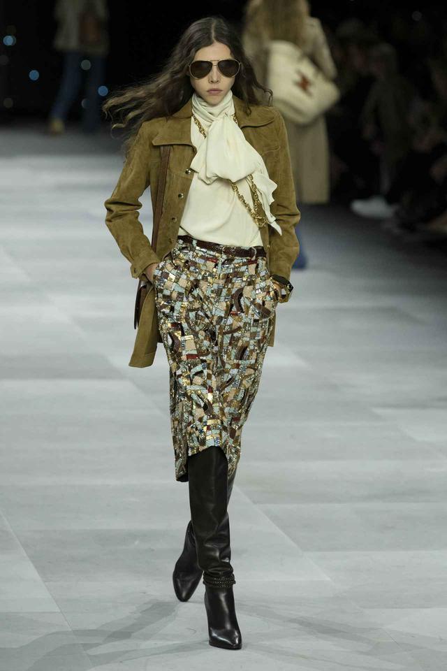 画像: ブランドCELINE(セリーヌ)より、パリファッションウィークにて