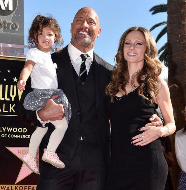 画像: ジャスミンちゃんはドウェインが12年の交際の末に2019年8月に結婚した現妻ローレン・ハシアンとの長女。ローレンとの間には、1歳の次女のティアナちゃんもいる。