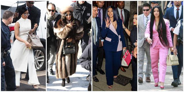 """画像: カーディの""""法廷ファッション""""ヒストリー。"""