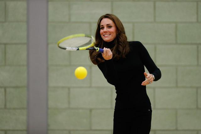 画像2: キャサリン妃があのスポーツに熱中