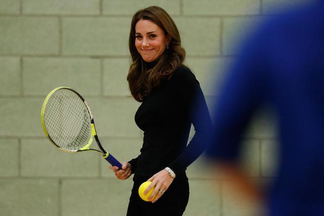 画像1: キャサリン妃があのスポーツに熱中