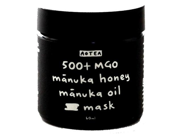 画像: マヌカハニー500+MGO&マヌカオイル マスク 60ml ¥6,800(税別) 全成分:ハチミツ(70%)、アーモンド油、ギョリュウバイ枝/葉油(10%)、セタノール