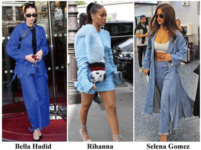 画像: マルケス・アルメイダのデニムを愛用するトップモデルのベラ・ハディッド、リアーナ、女優のセレーナ・ゴメス。