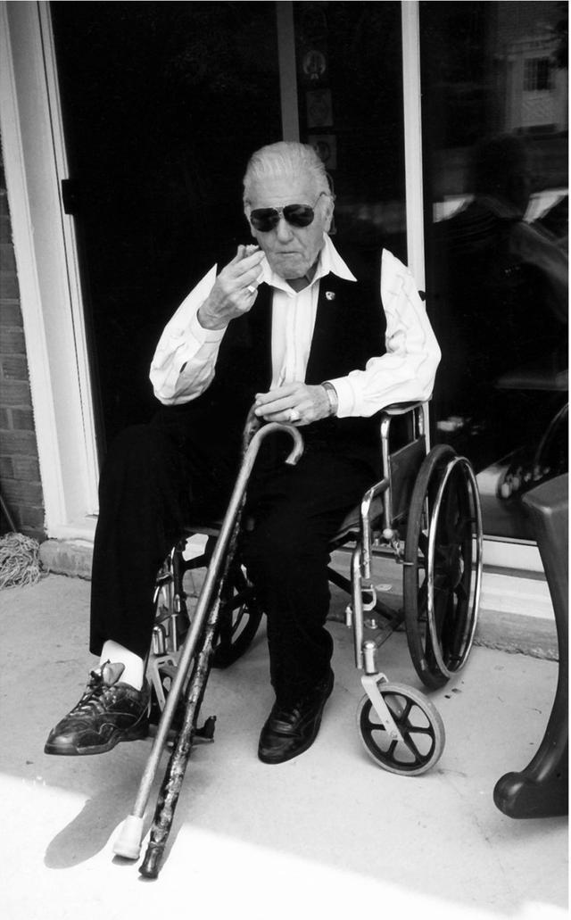 画像: 2001年に撮られたフランク・シーランの写真