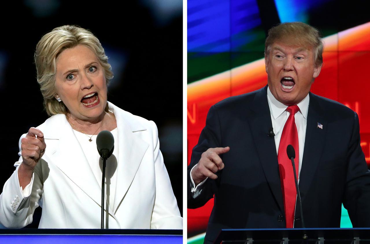 画像: 2016年の大統領選では、もう一人の弾劾された大統領であるビル・クリントン元大統領の妻であるヒラリー・クリントン氏を相手に闘い、トランプ大統領が勝利して大統領になった。