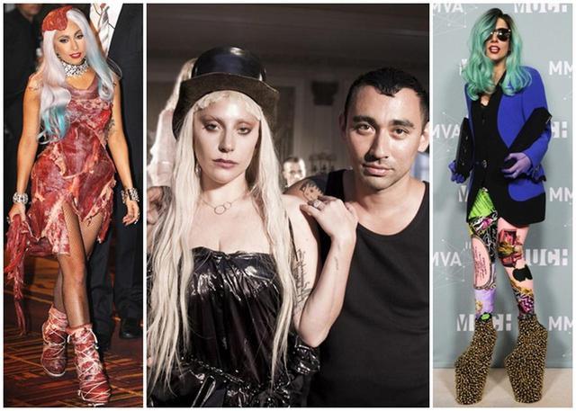 画像: 世界的に話題になった、レディー・ガガが着用した「肉ドレス」や、ガガを象徴する「スーパープラットフォーム」など、数多くの名作スタイリングを手がけたニコラ。