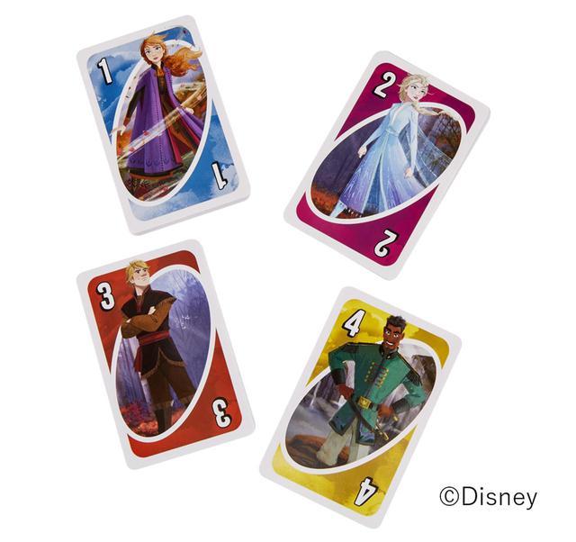 画像2: 『アナと雪の女王2』デザインのUNOが発売!
